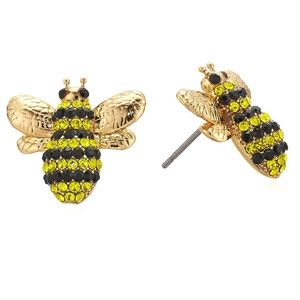 NEW Kate Spade Picnic Perfect Pavé Bee Studs